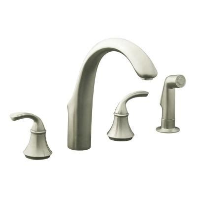 Kohler Forte Kitchen Faucet Leaking by Kohler Forte 2 Handle Standard Kitchen Faucet In Vibrant