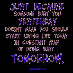 Life quotes: Ju... Hurt Meaning Quotes
