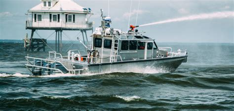 U Boat In Ny Harbor by Silver Ships Delivers Patrol Boat To New York Workboat