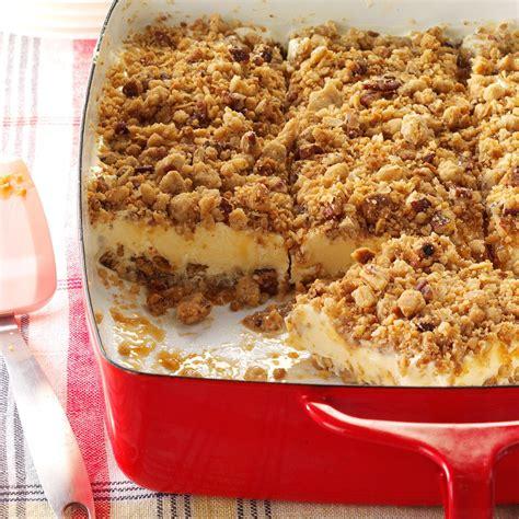 cuisine cing 28 best cing desserts caramel cake 2 taste of home
