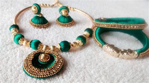 Hello Queens Silk Thread Jewellery Sets.. If Kim Gordon Jewelry Terracotta At Aavaranaa Ariel Uk Designer Imposter Jewellery Jobs Bag Houston Texas Classes Online