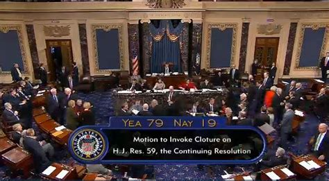 cloture bureau de vote senate votes for cloture on house obamacare defunding bill