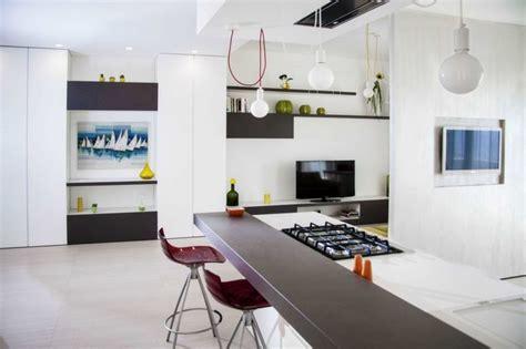 separation salon cuisine idée déco separation cuisine salon