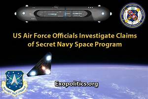 US Air Force Officials Investigate Claims of Secret Navy ...