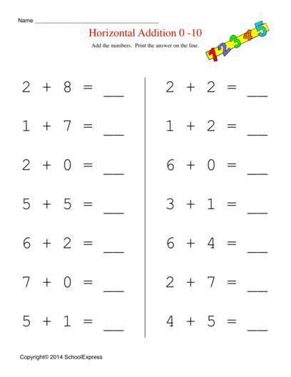 math worksheets  addition worksheets story problems