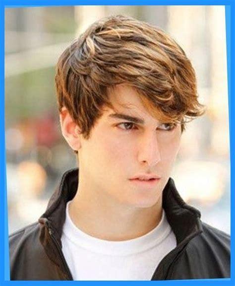 Boy Hairstyles Teenagers by Medium Length Hairstyles For Guys Regarding