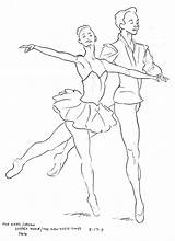 Coloring Pages Ballet Dancer Drawing Dancers Degas Illustration Dance Sketch Warrior Sketchbook David Barber Printable Half Getdrawings Mayan Getcolorings sketch template