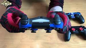 Ps4 - Magma Red  U0026 Wave Blue Dualshock 4 Controllers