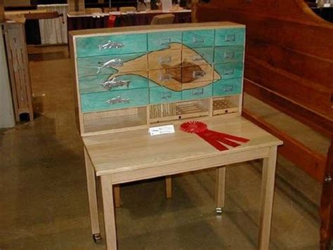 Fly Tying Table Woodworking Plans by Fly Tying Table By Sawdust2 Lumberjocks