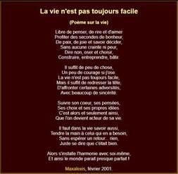 Poeme Vie by Po 232 Mes Et Textes Inspirants Sur La Vie Po 232 Mes Po 233 Sie D