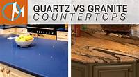 quartz vs granite countertops Difference Between Quartz And Granite Difference Between ...
