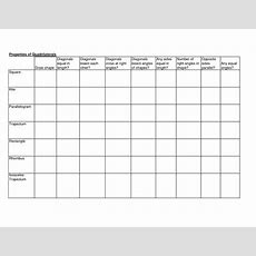 13 Best Images Of Printable Worksheets On Quadrilaterals  Types Of Quadrilaterals Worksheet