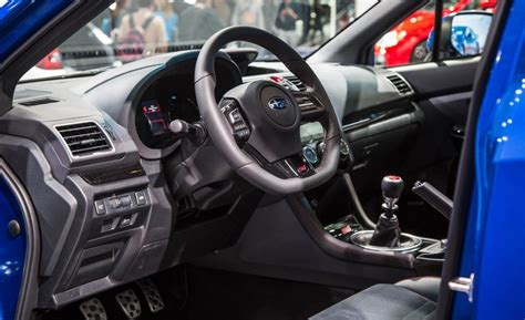 subaru wrx interior 2018 2018 subaru wrx sti price high performance release