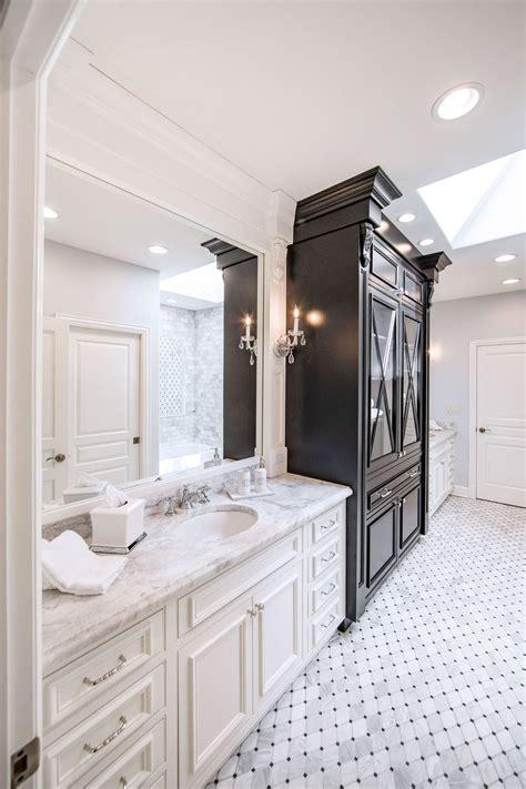 traditional luxury jack  jill bathroom remodel