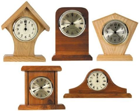 mini clocks plan   clocks woodworking