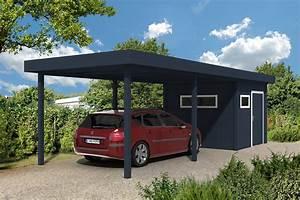 Aluminium Carport Mit Abstellraum : carport l 39 abri de voiture sur mesure l gant et design ~ Markanthonyermac.com Haus und Dekorationen