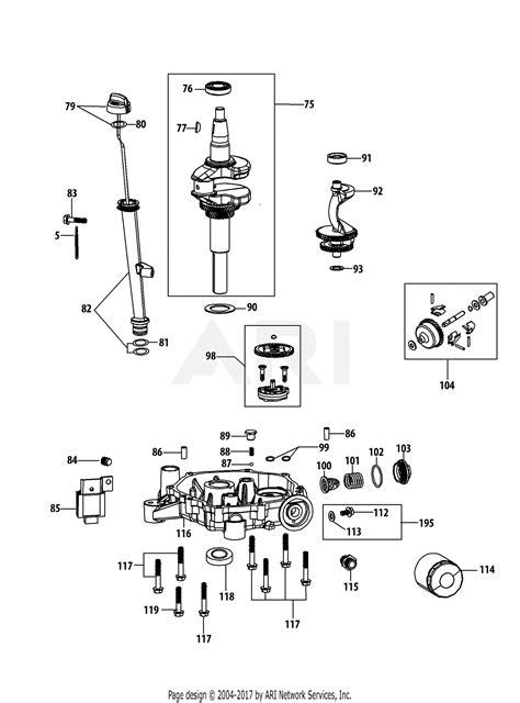 mtd   parts diagram  pjub