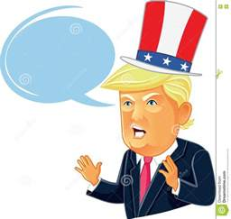Donald Trump as Cartoon