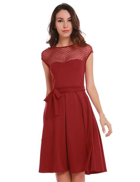 bm5198 pattern mesh dress pattern gauze mesh summer dress patchwork swing