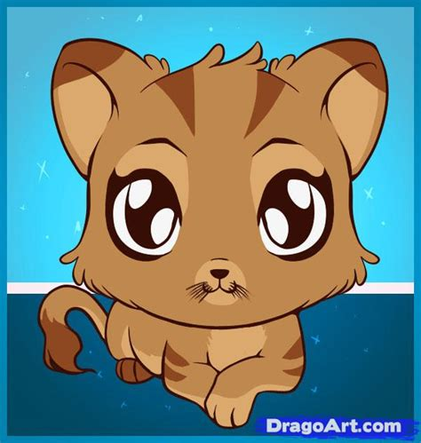 draw cute animals step  step pets animals