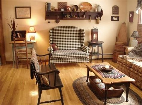 Primitive Decorating Ideas For Living Room by Stylish Primitive Decorating Ideas For Living Room