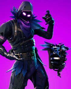 fortnite warrior video game raven skin