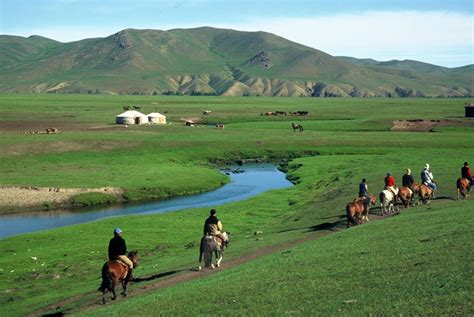 permanent tent mongolia the orkhon valley on horseback adventure