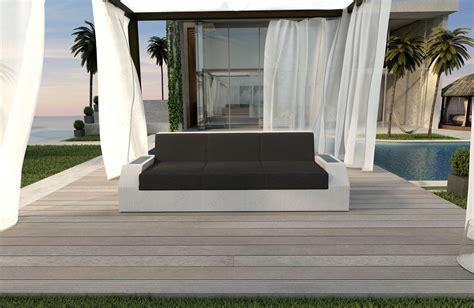 Divano Rattan - divano a 3 posti clermont in rattan nativo mobili in rattan