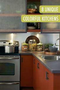 83 best images about colorful kitchens on pinterest for What kind of paint to use on kitchen cabinets for polar bear stickers