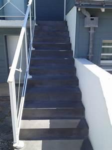 Habiller Un Escalier En Béton Brut : reparation escalier beton exterieur dcorlamaison connu renover reparation escalier beton ~ Nature-et-papiers.com Idées de Décoration