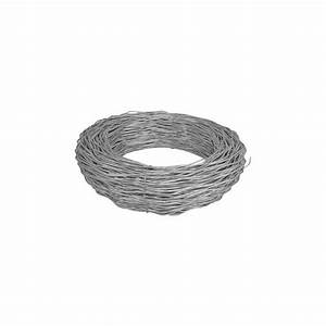 Chain Link Fence Tension Wire  Galvanized  7 Gauge