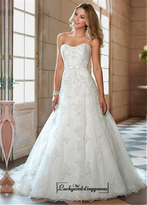 2015 New Noble Whiteivory Wedding Dress Bridal Gown Size