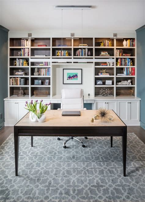 office desk with bookcase and shelving wall desk units home office transitional with custom unit