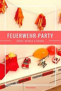 Party Deko Tipps : feuerwehr party zum kindergeburtstag deko spiele essen mamaskind ~ Whattoseeinmadrid.com Haus und Dekorationen