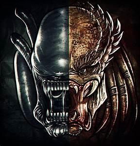 How to Draw Alien vs Predator, Step by Step, Aliens, Sci ...