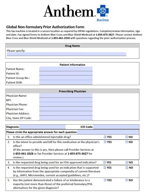 Florida Staywell Prior Authorization Form