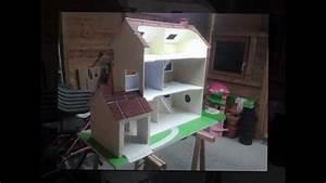 maison playmobil en bois youtube With cout pour surelever une maison