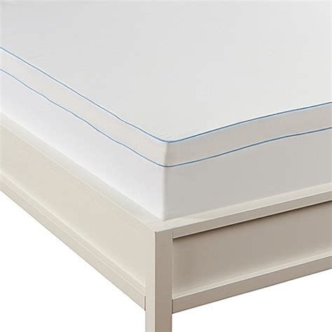 bed bath and beyond mattress topper buy sealy 174 microfiber king mattress topper cover from bed
