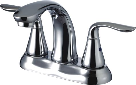 Freendo Two Handle Lavatory Faucet With Brass Pop-up Drain