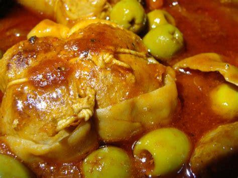 cuisiner paupiettes de veau recettes de olives vertes