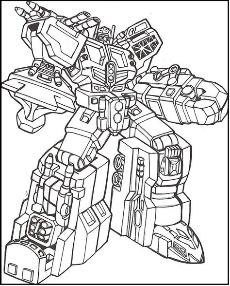 Coloring Transformer by Transformers Weapons Coloring Picture For