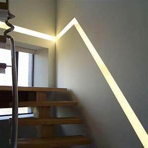 Kit Led Escalier : eclairage escalier interieur led ~ Melissatoandfro.com Idées de Décoration