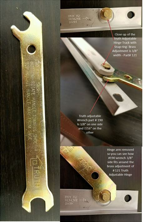 adjustable hinge wrench casement  awning windows