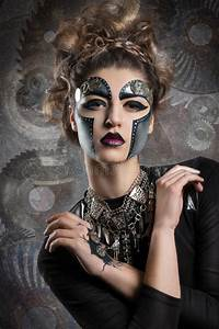 Woman With Makeup Steampunk Stock Photo Image 51079528