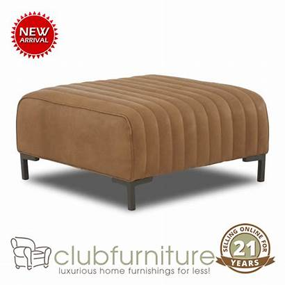 Leather Ottoman Coffee Cocktail Clubfurniture