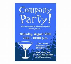 Event Invitation Samples Formal Company Party Invitation