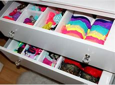 Bras & Panties Storage Tips! YouTube