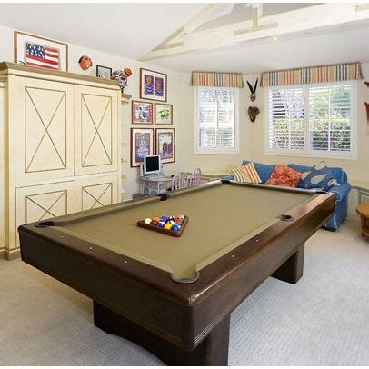 space for pool table small space w pool table lach basement pinterest