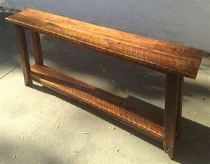 Long narrow console table to put behind sofa against a for How to choose the right long sofa table