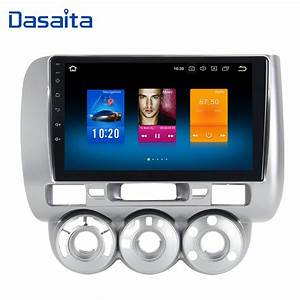 Android 8 0 1 Din Car Radio Gps For Honda Jazz Fit 2002